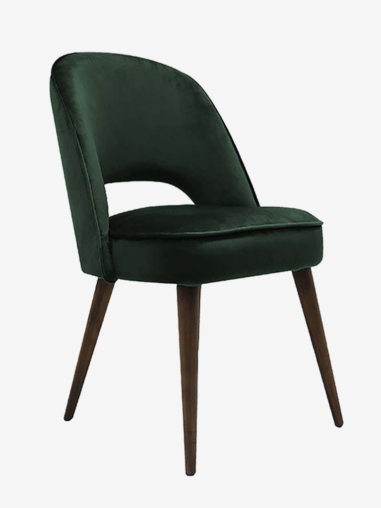Westside Home Dark Green Lincon Upholstered Chair