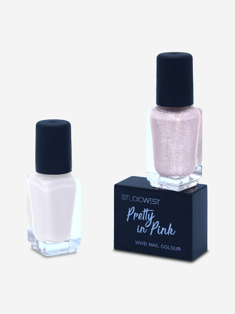 Studiowest Pretty In Pink Vivid Nail Colour - Pack of 2, PP 05, 9 ml