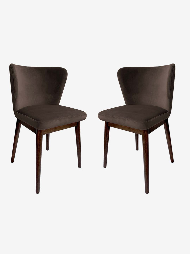 Westside Home Taupe Amsterdam Chair - Set of 2