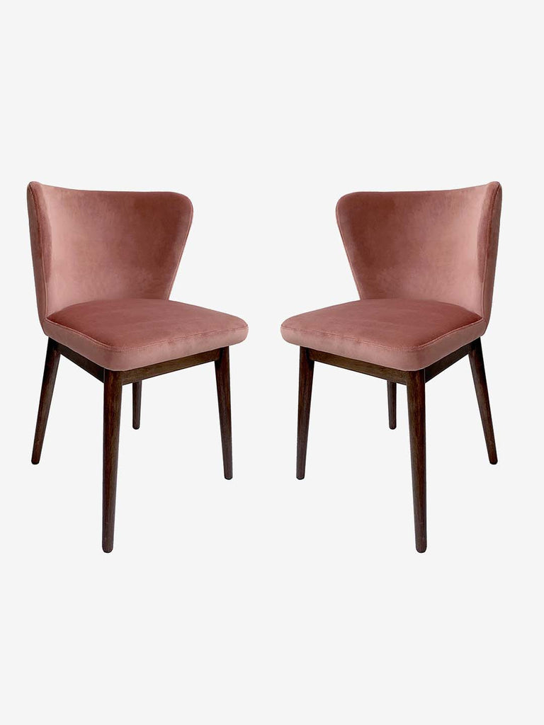 Westside Home Soft Pink Amsterdam Chair - Set of 2