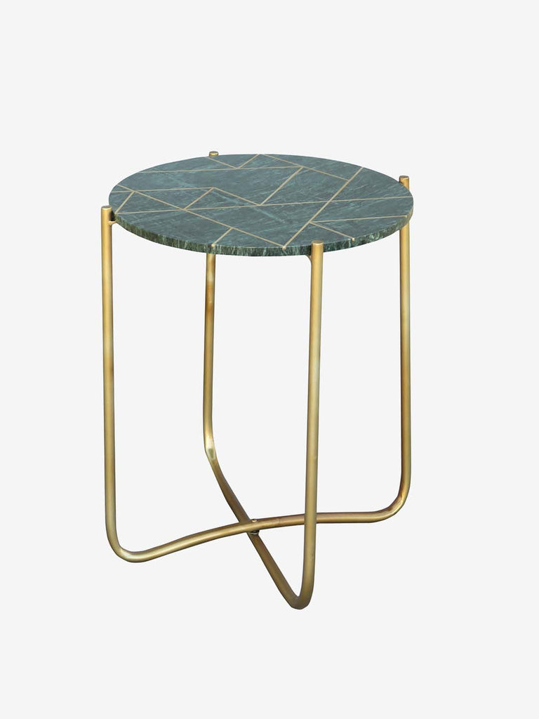 Westside Home Gold Newport Side Table