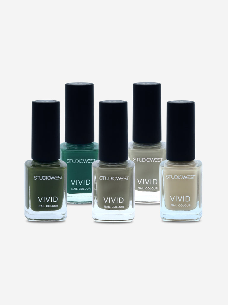 Studiowest Vivid Creme Nail Colour, WGR-02, 9 ml