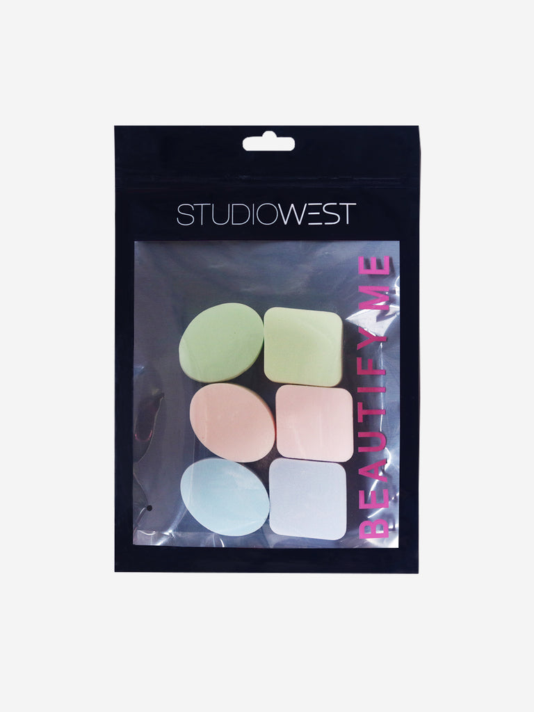 Studiowest Round And Square Sponge, 6N