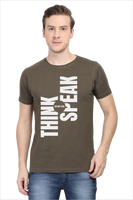 rTeee Graphic Printed T-Shirt for Men | Half Sleeve T-Shirt | Round Neck T Shirt | Think Before You Speak