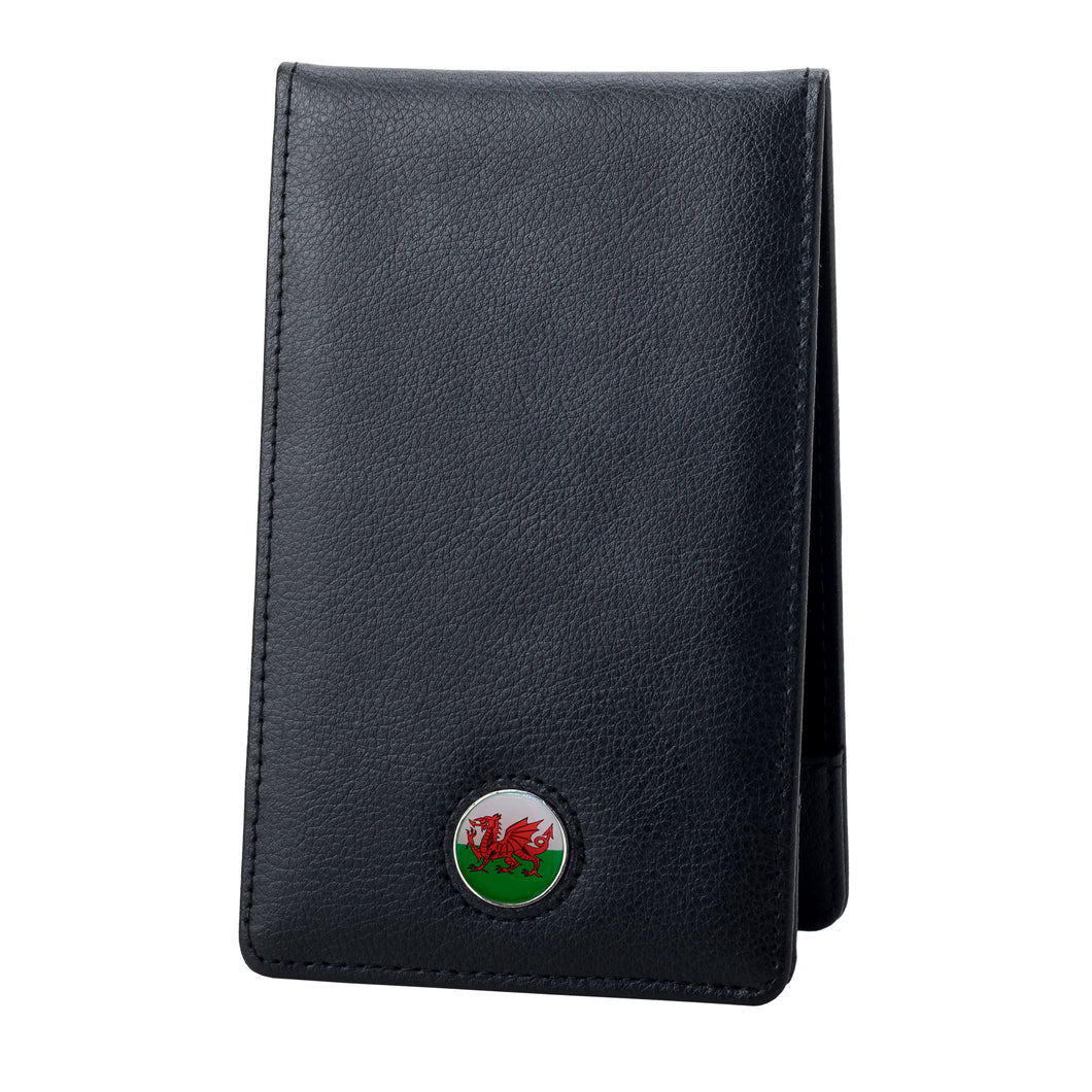 Leather Yardage Golf Book Holder