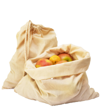 Load image into Gallery viewer, Organic Cotton Produce Bags - 8  Pack| 6 Pack | 3 Pack