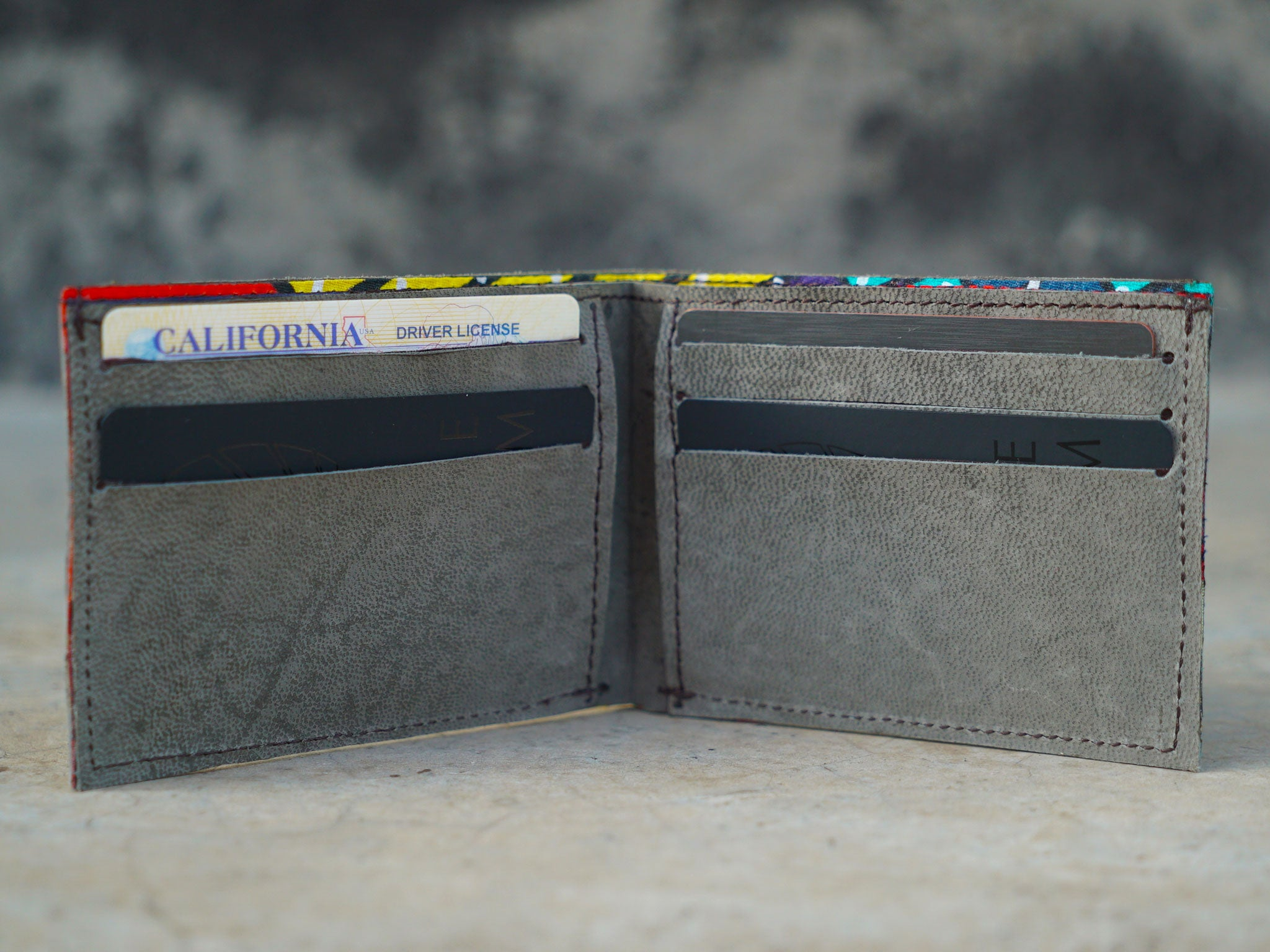 The Maasai | Free-Range African Goat Leather Wallet