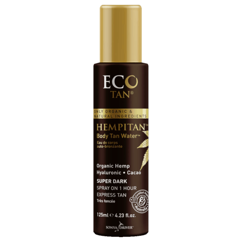 EcoTan Hempitan Face & Body Tan Water Oil Free