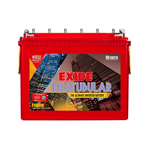 Exide 12V-150AH Tall Tubular Battery IT500