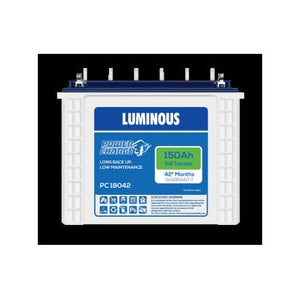 Luminous 12V-150AH Tall Tubular Battery PC 18042
