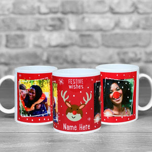 Christmas Mug - Festive Wishes