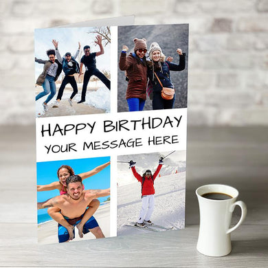NOW ONLY £7.99! Photo Upload Birthday Card