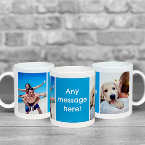Photo Upload Mug With Personalised Message
