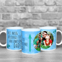 Load image into Gallery viewer, Awesome Dad Personalised Photo Mug