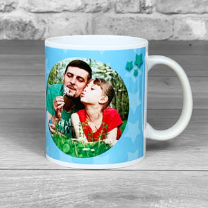 Awesome Dad Personalised Photo Mug