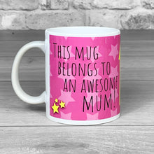 Load image into Gallery viewer, Awesome Mum Personalised Photo Mug