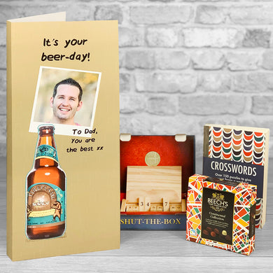 It's you Beer-day!  Personalised Birthday Card - Letterbox Gift Set