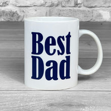 Load image into Gallery viewer, Best Dad Personalised Photo Mug - 1 photo upload