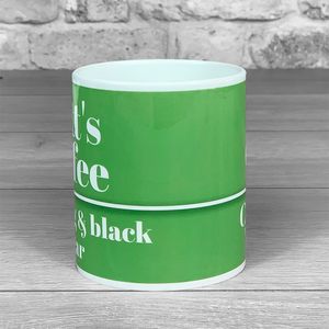 Coffee Mug 'How do you like yours?' with Personalised Name