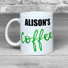Load image into Gallery viewer, Coffee Mug With Personalised Name