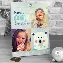 Load image into Gallery viewer, Have a Cool Christmas Photo Upload Advent Calendar