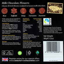 Load image into Gallery viewer, Milk Chocolate Flowers
