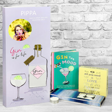 Gin the Mood Personalised Card - Letterbox Gift Set