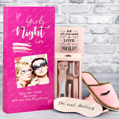 Girls Night In Personalised Card - Letterbox Gift Set
