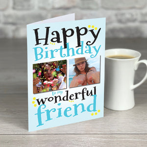 Wonderful Friend Birthday Card