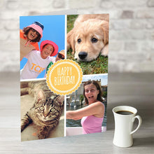 Load image into Gallery viewer, NOW ONLY £7.99!  Happy Birthday Rosette Card