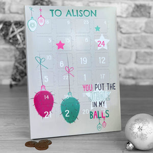 Jingle In My Balls Advent Calendar *ADULT HUMOUR*