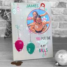 Load image into Gallery viewer, Jingle In My Balls Photo Upload Advent Calendar *ADULT HUMOUR*
