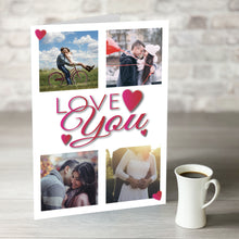 Load image into Gallery viewer, NOW ONLY £7.99! Love You - Multi Photo Upload