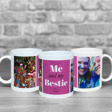 Load image into Gallery viewer, Me and my Bestie Photo Upload Mug