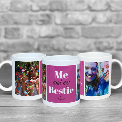 Me and my Bestie Photo Upload Mug