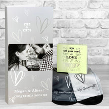 Load image into Gallery viewer, Mr and Mrs Newlyweds Personalised Card - Letterbox Gift Set