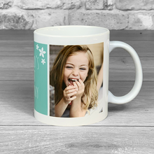 Load image into Gallery viewer, World's Best Nanny Photo Upload Mug