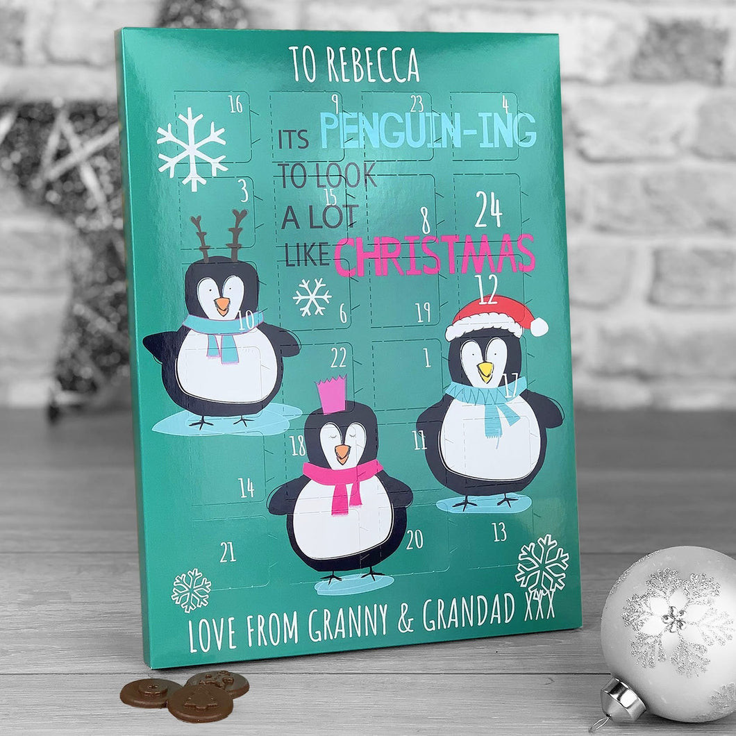 It's Penguining To Look A Lot Like Christmas Advent Calendar