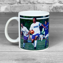 Load image into Gallery viewer, There's a small chance this contains alcohol - Photo Upload and name Blue Mug