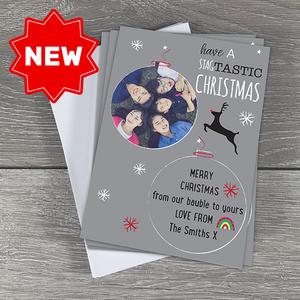 Christmas Card Pack of 6 - Have a Stagtastic Christmas