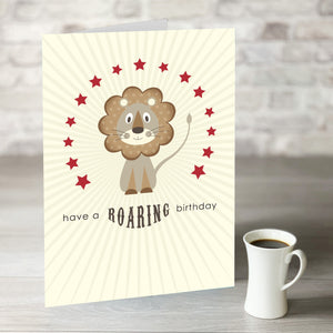 NOW ONLY £7.99! Have a Roaring Birthday Card