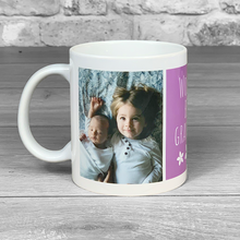 Load image into Gallery viewer, World's Best Grandma Photo Upload Mug