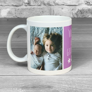 World's Best Grandma Photo Upload Mug