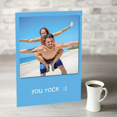 NOW ONLY £7.99!  You Rock Birthday Card