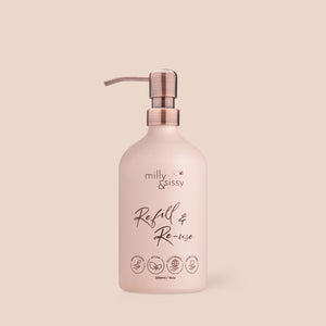 Refill & Reuse for Life Bottle in Blush
