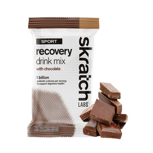 Sport Recovery Drink Mix, Chocolate, Single Serving Packet