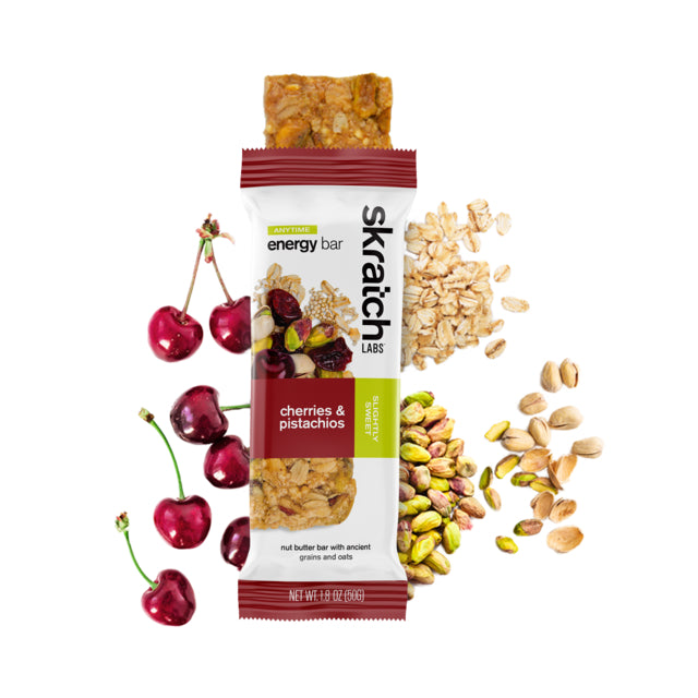 Anytime Energy Bar, Cherries & Pistachios