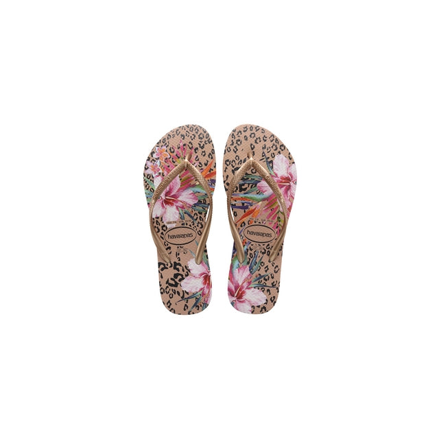 Women's Slim Animal Floral Sandal
