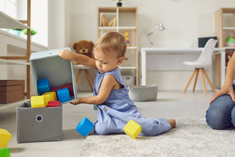 Looking for Toys Inside Boxes