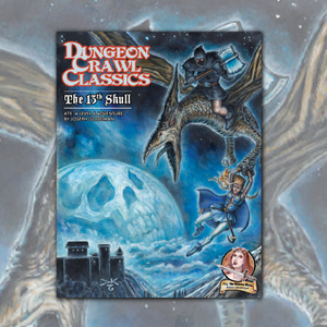 Dungeon Crawl Classics #71: The 13th Skull - Vintage Book Cover Edition